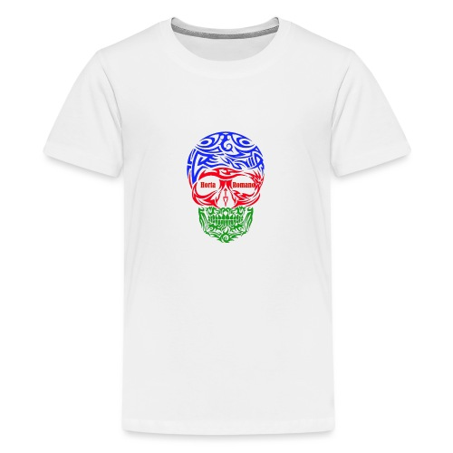 LennyLindellskullgipsycolurs3ghortaromanored - Premium-T-shirt tonåring