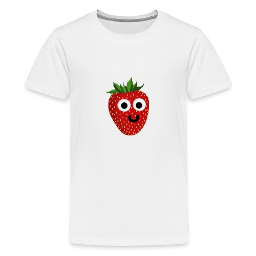 Strawberry - Teenager Premium T-Shirt