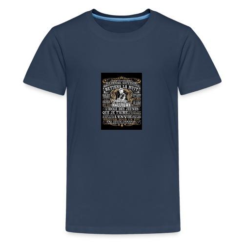 Johnny hallyday diamant peinture Superstar chanteu - T-shirt Premium Ado