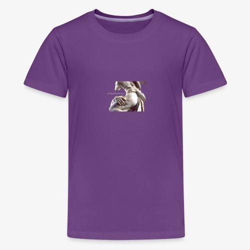 #OrgulloBarroco Rapto difuminado - Camiseta premium adolescente