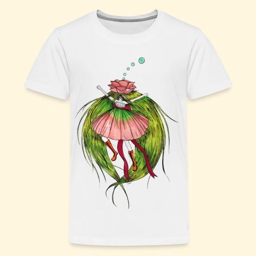 Fée des fleurs : Tiens bon ! (Pour l'écologie) - T-shirt Premium Ado
