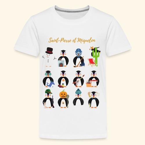 3- SPM Calendrier - T-shirt Premium Ado