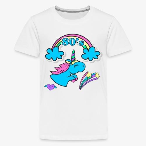 UNICORNIO FELIZ - Camiseta premium adolescente