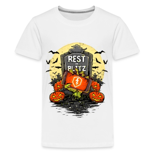 World of Tanks Blitz - Rest in Blitz - Teenager Premium T-Shirt