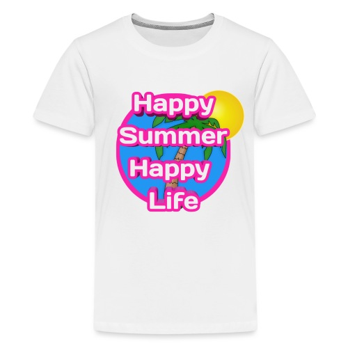 Happy Summer - Teenager Premium T-shirt