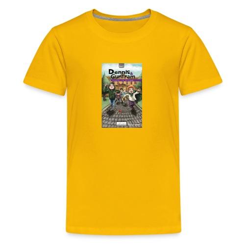 DennisGuntram Band1 1500x2400 jpg - Teenager Premium T-Shirt