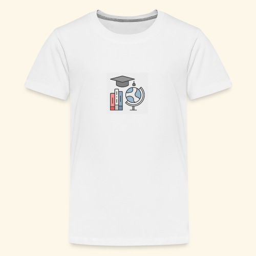 teacher knowledge learning University education pr - Teenager premium T-shirt