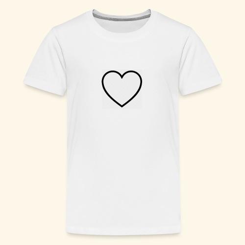 heart 512 - Teenager premium T-shirt