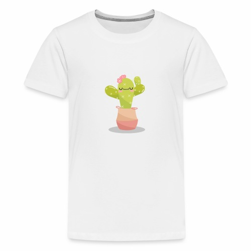cactus 1 - Camiseta premium adolescente