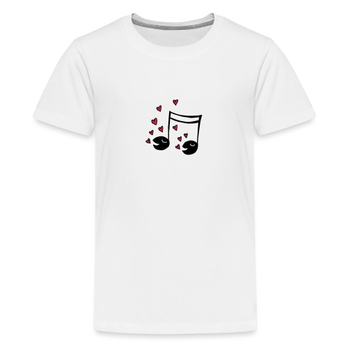 Love tunes - Teenager Premium T-Shirt