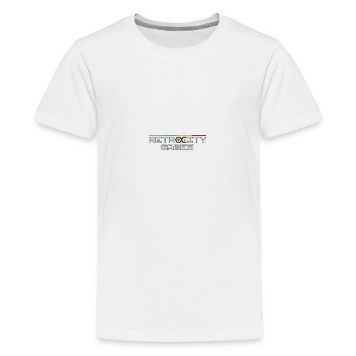 Casquette officielle - T-shirt Premium Ado