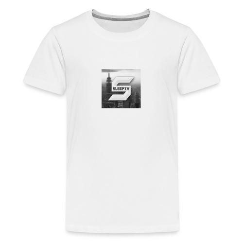 SleepTV Logo - Teenage Premium T-Shirt