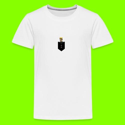 T-Shirt De Cor Dupla c/ Bolso - Teenage Premium T-Shirt