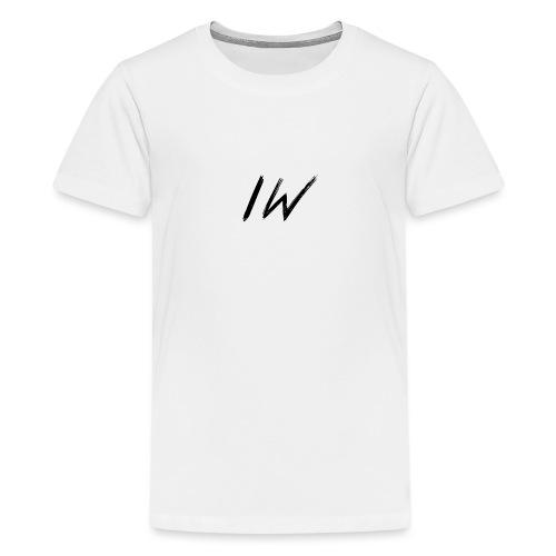 ItzWout KleinLogo 6-14Jaar - Teenager Premium T-shirt