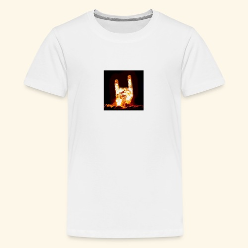 fingers bomb - T-shirt Premium Ado