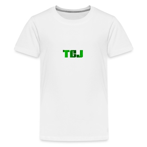 TGJ OFFICIAL LOGO - Teenager premium T-shirt