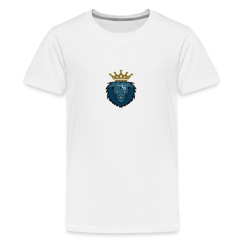 plain logo with crown - Teenage Premium T-Shirt