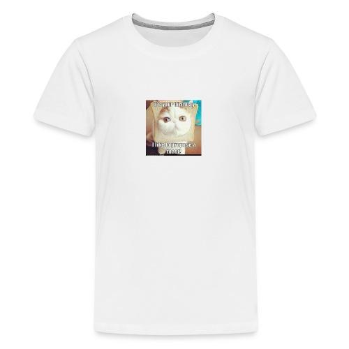 grappige kat - Teenager Premium T-shirt