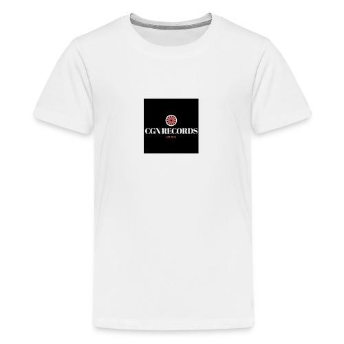 CGN Records Logo - Teenager Premium T-Shirt