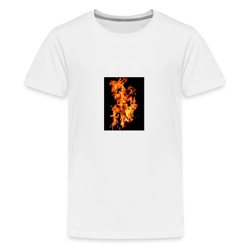 Feuer - Teenager Premium T-Shirt