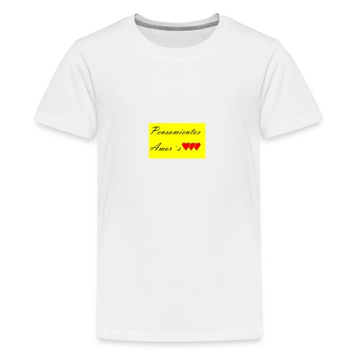 Pensamientos-png - Camiseta premium adolescente