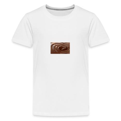 Choklad T-shirt - Premium-T-shirt tonåring