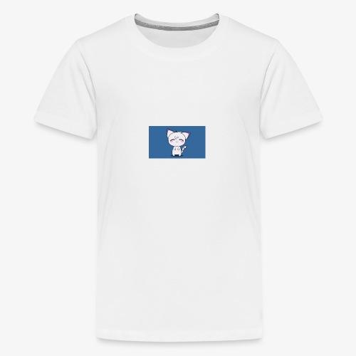 Happy Cat - Teenage Premium T-Shirt