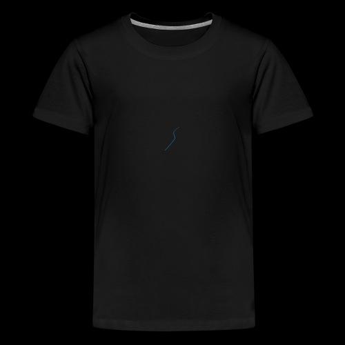 logo Style bleu - T-shirt Premium Ado