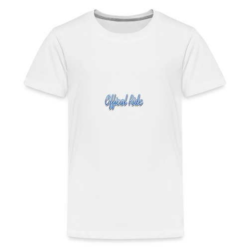 Offical Ride - Teenager Premium T-Shirt