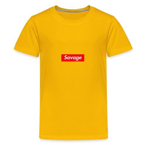 Clothing - Teenage Premium T-Shirt