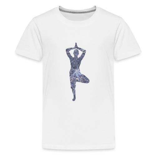 Yoga Baum Asana - Teenager Premium T-Shirt