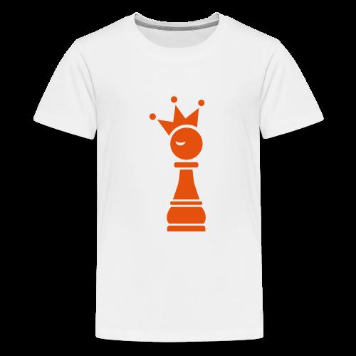 Winky Chess King - Teenager Premium T-shirt