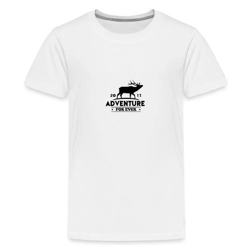 ADVENTURE FOR EVER - CERVO - Maglietta Premium per ragazzi