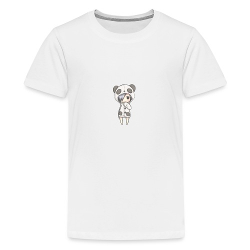 Cute girl panda - Teenage Premium T-Shirt
