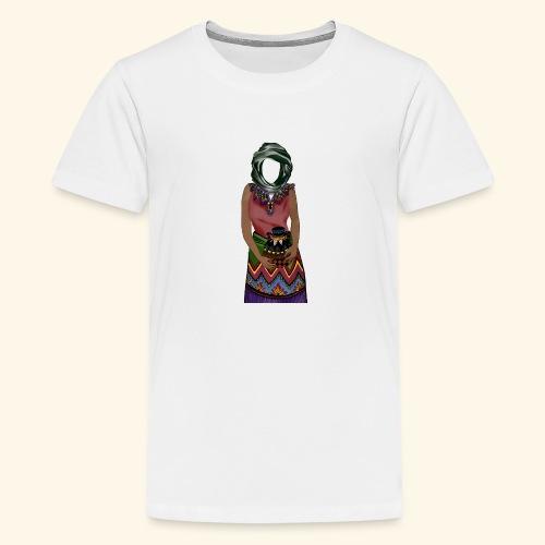 Femme avec jare - T-shirt Premium Ado