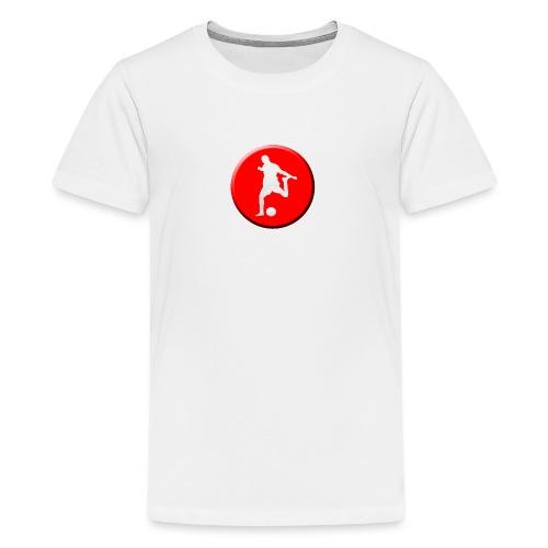 Camiseta de TU ESCUELA DE FUTBOL - Camiseta premium adolescente
