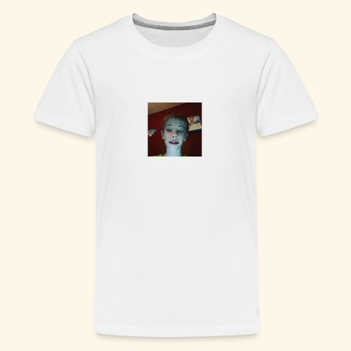 jag på t_shirth - Premium-T-shirt tonåring