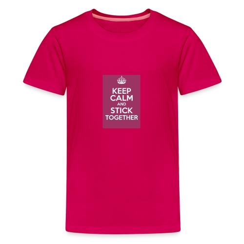 Keep calm! - Teenage Premium T-Shirt