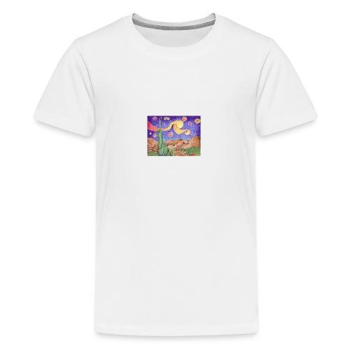1 - Camiseta premium adolescente
