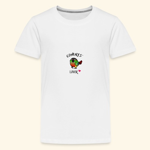 Conures' Lover: opaline - T-shirt Premium Ado