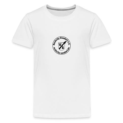 Rockcity Oesdorf Stempel1 - Teenager Premium T-Shirt