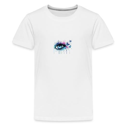 Eye - Teenager Premium T-Shirt