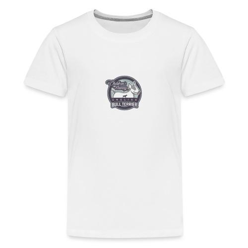 English Bull Terrier Children´s Nanny - Teenager Premium T-Shirt