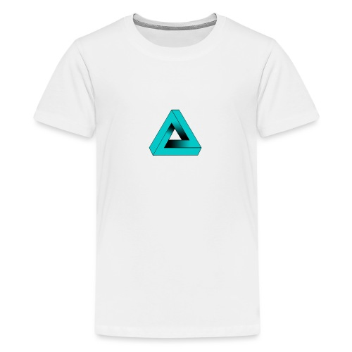 Impossible Triangle - Teenage Premium T-Shirt