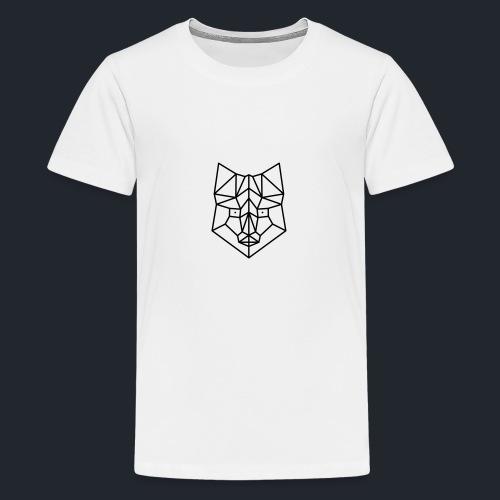 vos simpel lijn - Teenager Premium T-shirt