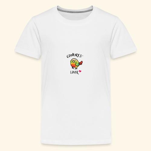 Conures' Lover: Ananas - T-shirt Premium Ado