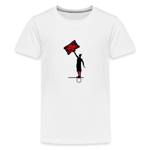 Logo-Männchen - Teenager Premium T-Shirt