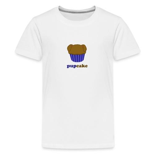 pupcake blauw - Teenager Premium T-shirt