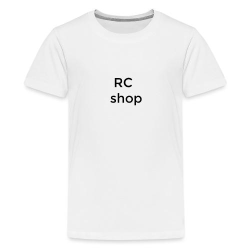 logo RCshop - T-shirt Premium Ado