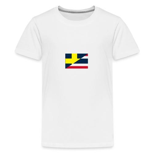 thailands flagga dddd png - Premium-T-shirt tonåring